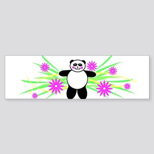 Pretty Panda Bumper Sticker