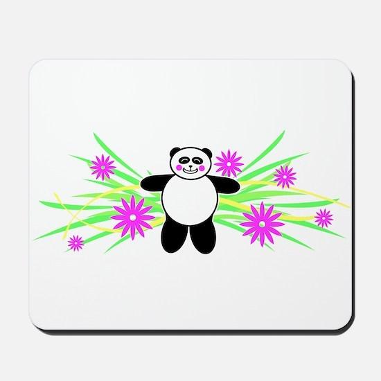 Pretty Panda Mousepad