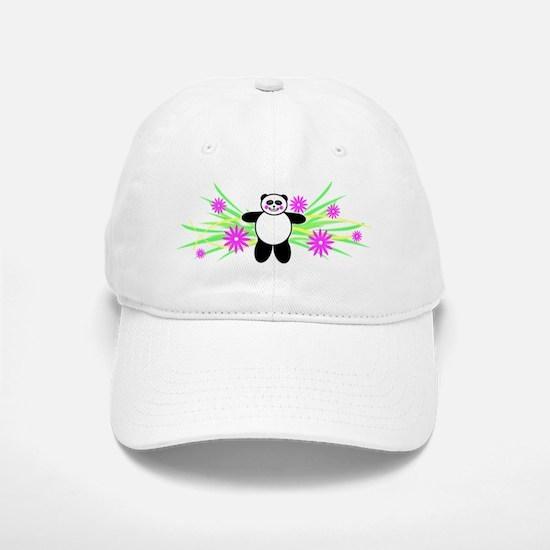 Pretty Panda Baseball Baseball Cap