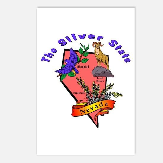 """Nevada Pride"" Postcards (Package of 8)"