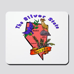 """Nevada Pride"" Mousepad"