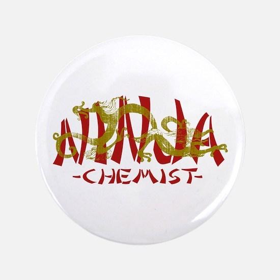 """Dragon Ninja Chemist 3.5"""" Button"""