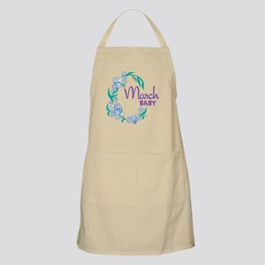 MARCH BABY BBQ Apron
