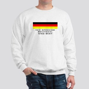 Speak German-Sweatshirt
