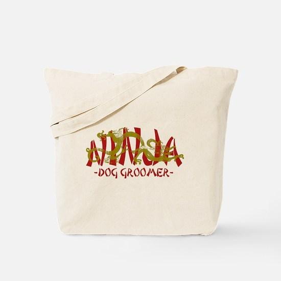 Dragon Ninja Dog Groomer Tote Bag