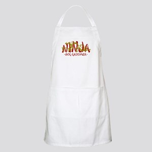 Dragon Ninja Dog Groomer BBQ Apron