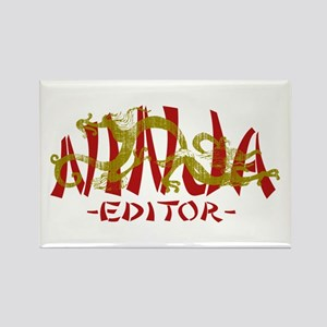 Dragon Ninja Editor Rectangle Magnet
