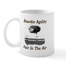 Beardie Agility-Hair in the Air Mug