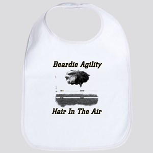 Beardie Agility-Hair in the Air Bib