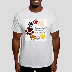 Official ICA Gear Ash Grey T-Shirt