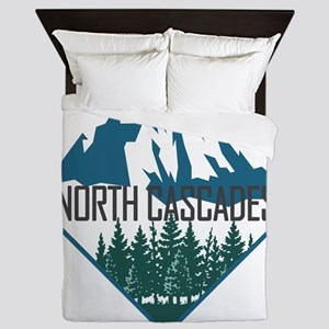 North Cascades - Washington Queen Duvet