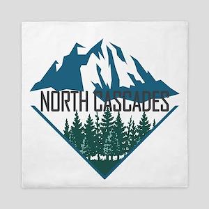 North Cascades - Washington Queen Duvet