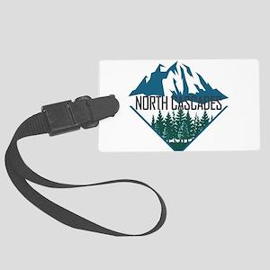 North Cascades - Washington Large Luggage Tag