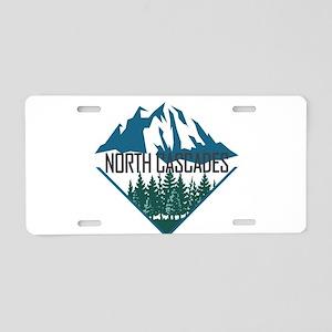 North Cascades - Washington Aluminum License Plate