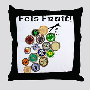 Feis Fruit - Throw Pillow