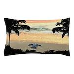 Sea Turtle Hatchling Pillow Case