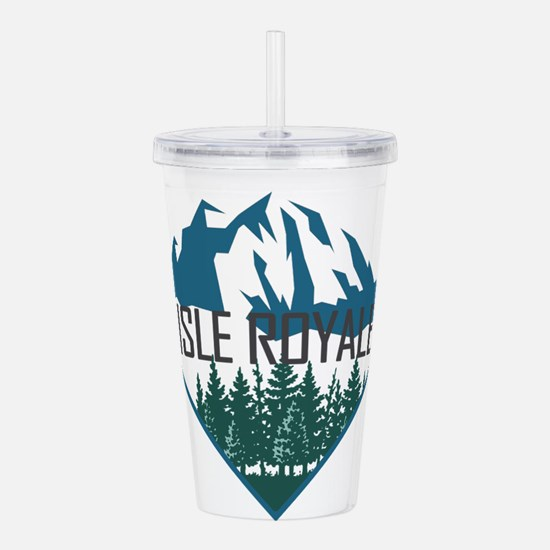 Isle Royale - Michigan Acrylic Double-wall Tumbler