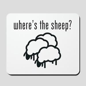 Where's the Sheep? Mousepad