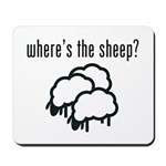 Where's the Sheep? Mousepad