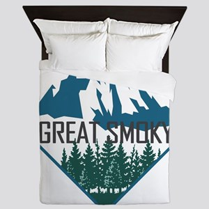 Great Smoky Mountains - Tennessee, Nor Queen Duvet