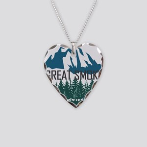 Great Smoky Mountains - Tenne Necklace Heart Charm