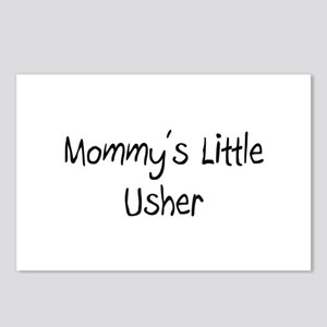 Mommy's Little Usher Postcards (Package of 8)