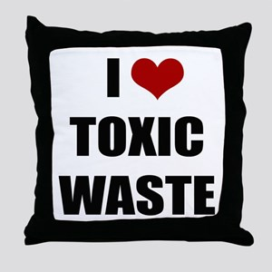 Real Genius - I Love Toxic Waste Throw Pillow