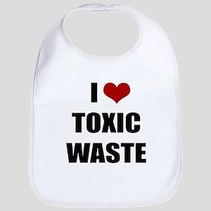 Real Genius - I Love Toxic Waste Bib