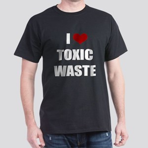 Real Genius - I Love Toxic Waste Dark T-Shirt