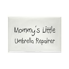 Mommy's Little Umbrella Repairer Rectangle Magnet