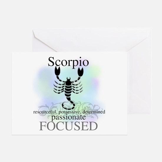 Scorpio the Scorpion Greeting Card