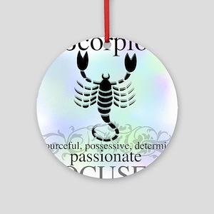 Scorpio the Scorpion Ornament (Round)