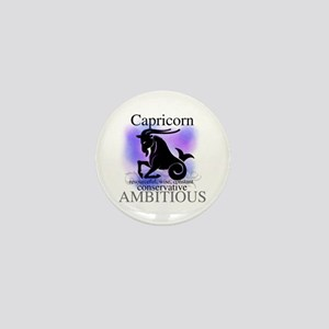 Capricorn the Goat Mini Button