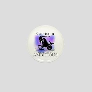 Capricorn the Goat Mini Button