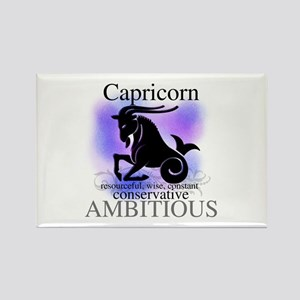 Capricorn the Goat Rectangle Magnet