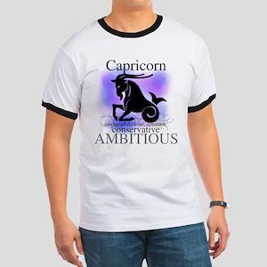 Capricorn the Goat Ringer T