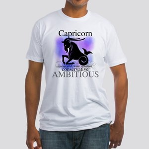 Capricorn the Goat Fitted T-Shirt