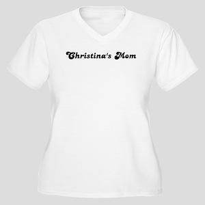 Christinas mom Women's Plus Size V-Neck T-Shirt
