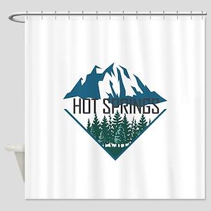 Hot Springs - Arkansas Shower Curtain