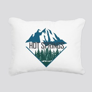 Hot Springs - Arkansas Rectangular Canvas Pillow