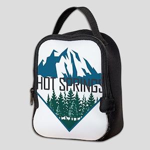 Hot Springs - Arkansas Neoprene Lunch Bag