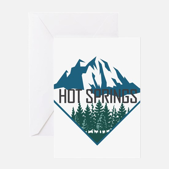 Hot Springs - Arkansas Greeting Cards
