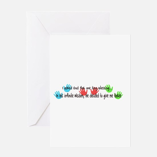 Funny Baby shower Greeting Card