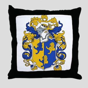 Hammond Family Crest Throw Pillow