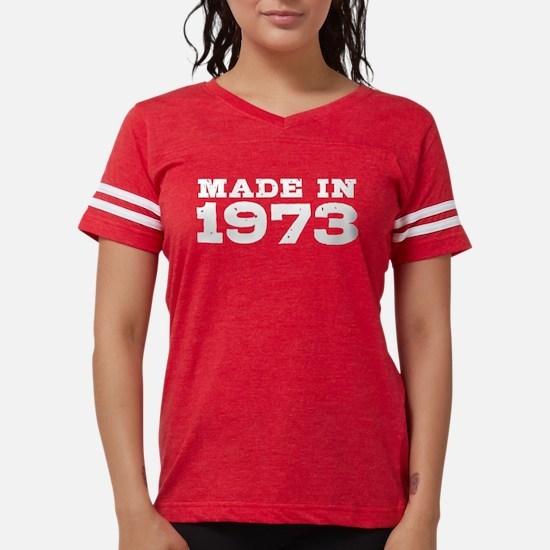 Made in 1973 Women's Dark T-Shirt
