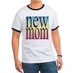 109. new mom [rainbow back] Ringer T