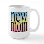 109. new mom [rainbow back] Large Mug