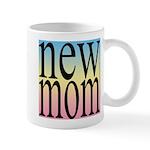 109. new mom [rainbow back] Mug