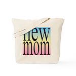 109. new mom [rainbow back] Tote Bag