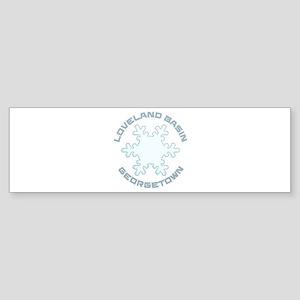 Loveland Basin - Georgetown - Col Bumper Sticker